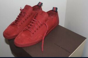 louis vuittons red shoes