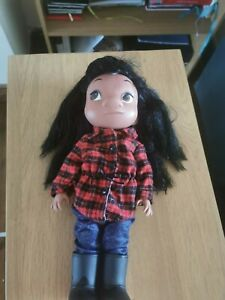 """Official Disney Store Animator Collection Lilo 16"""" Doll Toy  (lilo & stitch)"""