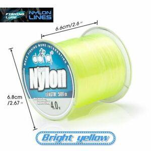 DONQL Fishing Line 500m Wire Fishing Nylon Cord 2-22.5lb Super Strong Floating