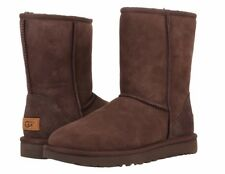 NEW WOMEN BOOT UGG CLASSIC SHORT II CHOCOLATE  1016223 ORIGINAL