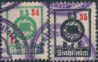 Lot Stamp Germany Revenue WWII War Era NSDFB Selection Used