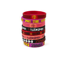Zumba ~ I Run This Rubber Bracelets -- 8 Pack! ~ New! Free Shipping!