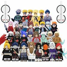 NARUTO shippuden Minifigure custom tipo Lego uzumaki Sasuke Kakashi