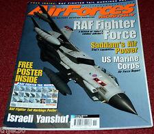Air Forces Monthly 2002 November F-14,Tornado,Harrier,Jaguar,RNZAF CT-4,France