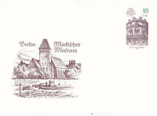 East Germany 1987 Markisches Museum 10pfg Prepaid Postcard Unused VGC