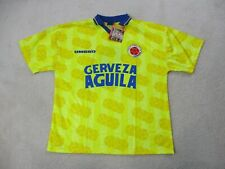 NEW Umbro Columbia Soccer Jersey Adult Large Yellow Futbol World Cup Football