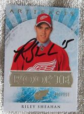 Detroit Red Wings Riley Sheahan Signed 12/13 Artifacts Rookie Card #/999