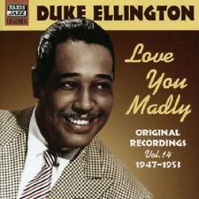 DUKE ELLINGTON / LOVE YOU MADLY * NEW CD * NEU *