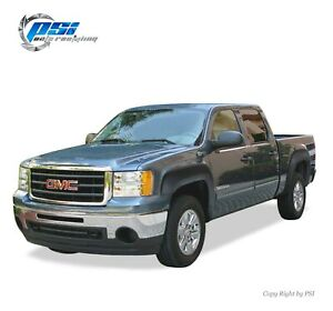 Textured OE Style Fender Flares Fits GMC Sierra 1500 2007-2013 5.8 Ft Bed Only