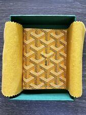 goyard saint marc card wallet
