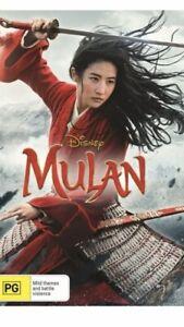 Mulan DVD Brand New Region 4