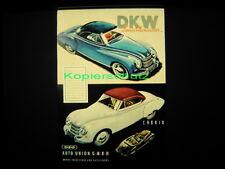 Kinodia, glasdia, 35 mm Movie Glass slide-DKW Limousine
