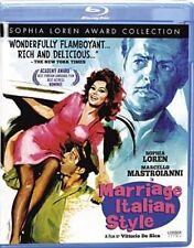 Marriage Italian Style 0738329074722 With Sophia Loren Blu-ray Region a
