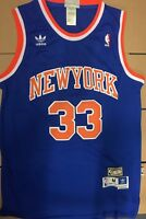 Patrick Ewing #33 New York Knicks Hardwood Classic Stitched Men's Jersey
