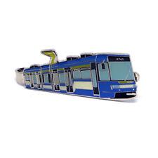 Krawattenklammer Straßenbahn Tatra RT6S - blau Prototyp