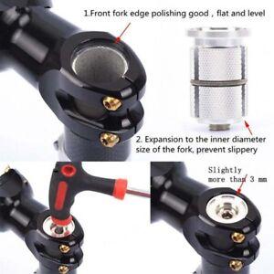 Bicycle Bike Headset Expander Plug Compressor Stem Top Cap Carbon Fork GR