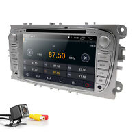 """Ford Mondeo/Focus 7""""Android 9.0 Car DVD Player GPS NAV Stereo BT OBD2 DAB+ Radio"""