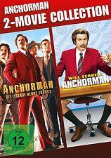 ANCHORMAN BOX  2 DVD NEU
