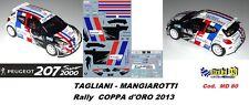 PEUGEOT 207 S2000 -  TAGLIANI  -  Rally COPPA d'ORO  2013