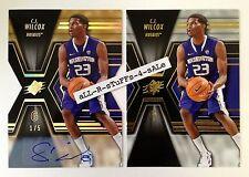 2014-15 SPx Rookie C.J. WILCOX Gold AUTOGRAPH Diecut 1/5 Clippers RC Huskies #61