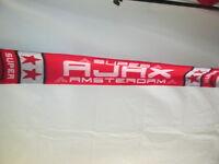 Ajax Traditional Home Football Scarf /bi