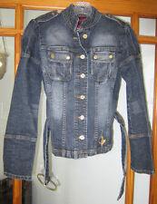 Baby Phat Jean Jacket Women's Small W/ Belt
