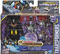 Transformers Cyberverse Battle for Cybertron - Sharkticons Attack Action Figure