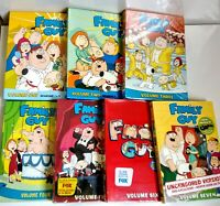 Family Guy Complete Series Volume 1-7 Seasons 1 2 3 4 5 6 7 dvd lot MOST SEALED