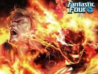 Fantastic Four #14 Lee Immortal Wraparound Var Marvel Comic 1st Print 2019 NM