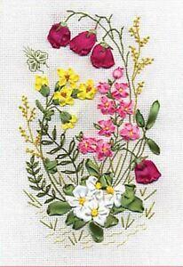 Panna Ribbon Embroidery Kit - Woodland Fantasy