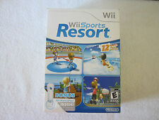 Wii Sports Resort with Wii Motion Plus Controller Attachment Nintendo Brand New!