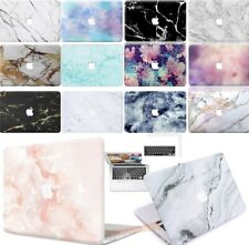 """Rubberized Marble Matte Hard Case Cover For New Macbook Pro 13""""15"""" Air 11"""" 13"""""""