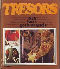 Trésors Des jeux Gourmands * Edicope * idées Déco et Cuisine  1971 jeunes années