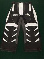 "New Summit Hockey Ltd. Inline Roller Hockey Adult Pants Medium Black 30"" Waist"