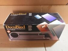 New Gbc Docubind Punching Amp Binding System Plus Heavy Duty 3 Hole Punch