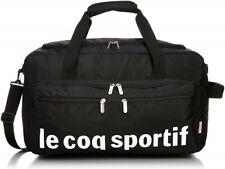 Le Coq Sportif Boston Bag Black 810g 36130 New From Japan