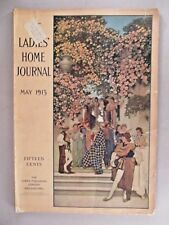 Ladies' Home Journal - May, 1913 ~~ Maxfield Parrish cover