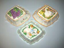 Set 3 Franklin Mint Le Cordon Bleu Jello Molds Wall Hangings Duck Grapes Lamb