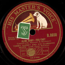 TOMMY DORSEY & HIS ORCHESTRA  Alibi Baby / Rhythm saved the world  78rpm X464