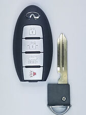 2013-2016 OEM Infiniti Q50 Smart Keyless Entry Remote w/ Insert Emergency Key