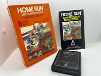 Home Run Atari 2600 Game Complete w/ Box & Manual Free Shipping Read Desc