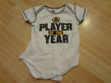"Infant/Baby Boston Bruins 12 Mo Creeper ""Player of the Year"" (White)"