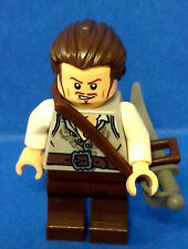 Pirates of the Carribean Will Turner LEGO Minifigure