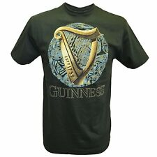 Guinness Beer T-Shirt Uomo Maglietta Arpa Birra PS 09285