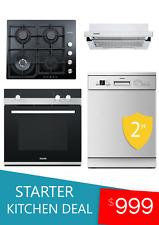 Salini Starter Kitchen Package Oven Stove Dishwasher Rangehood Modern NEW