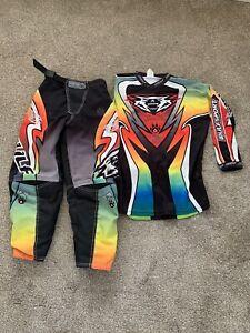 Wulfsport Motocross Kids Suit