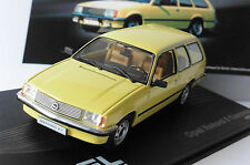 OPEL REKORD E1 CARAVAN 1977 1982 LIGHT YELLOW IXO ALTAYA LEFT HAND DRIVE LHD