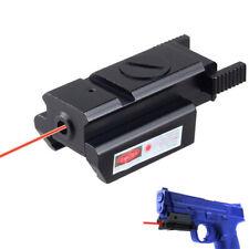 9mm Mini Red Dot Sight Laser w/Rail Mount For Gun Pistol Picatinny Weaver Rifle