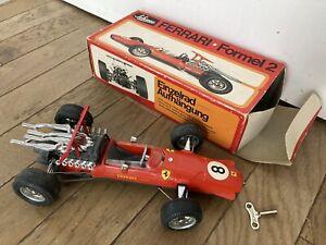 Schuco 1073 Ferrari Formel 2 Boite Et Cle Originale