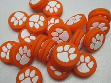 "LOT OF 2X ""TIGERS"" MASCOT SILICONE VIBRATION DAMPENERS TENNIS RACQUETS"
